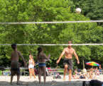 volleyball at Graydon Pool